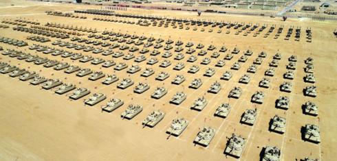 Ai Cập khánh thành căn cứ quân sự tại Trung Đông - Ảnh 1.