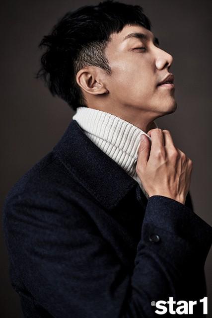 Lee Seung Gi cực nam tính trong bộ ảnh mới - Ảnh 11.