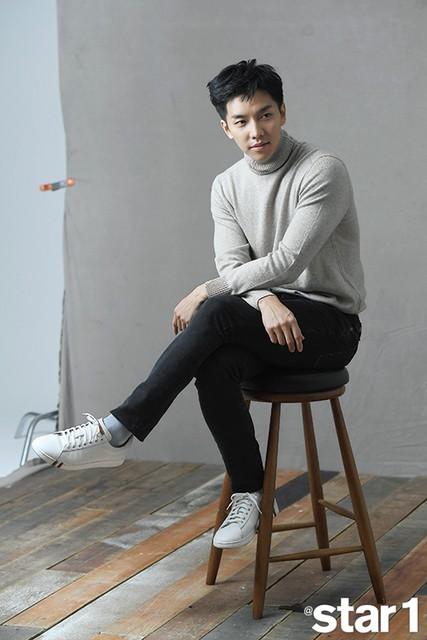 Lee Seung Gi cực nam tính trong bộ ảnh mới - Ảnh 2.