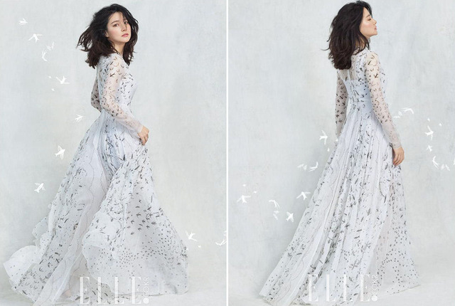 Thổn thức với vẻ đẹp tựa sương mai của Lee Young Ae - Ảnh 8.