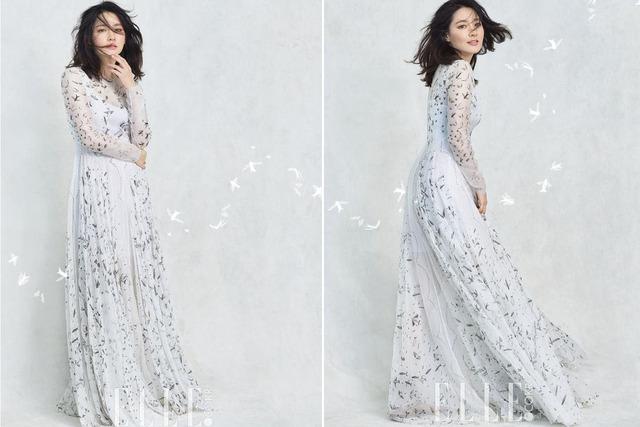 Thổn thức với vẻ đẹp tựa sương mai của Lee Young Ae - Ảnh 7.