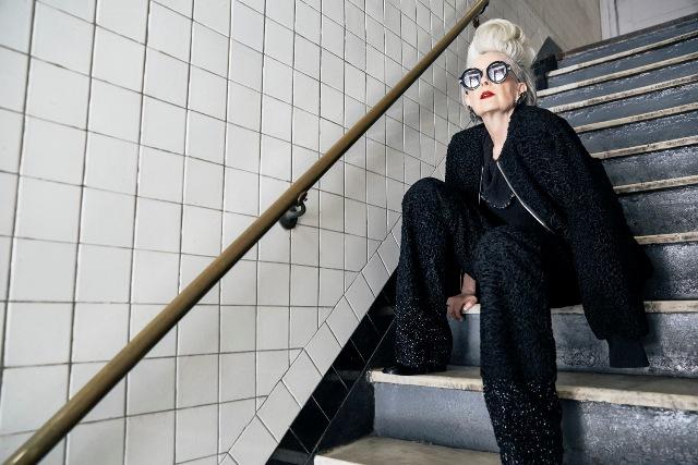 Nữ giáo sư thành người mẫu thời trang ở tuổi 63 - Ảnh 5.