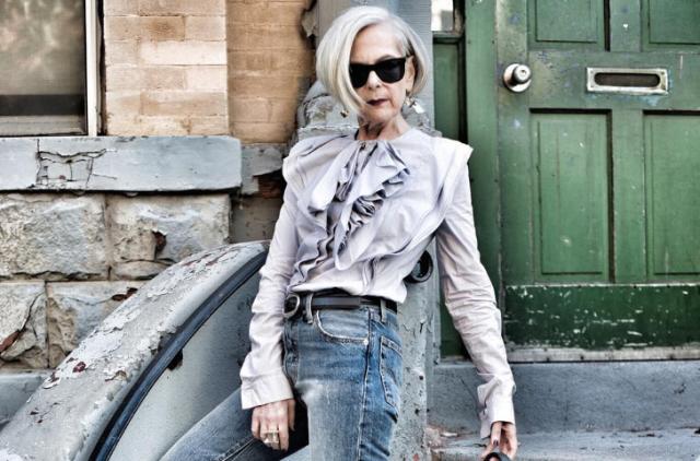 Nữ giáo sư thành người mẫu thời trang ở tuổi 63 - Ảnh 3.