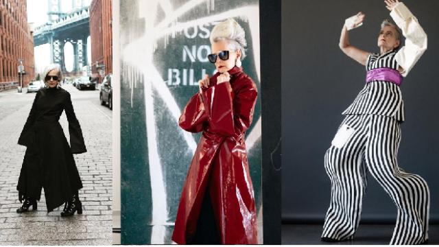 Nữ giáo sư thành người mẫu thời trang ở tuổi 63 - Ảnh 2.