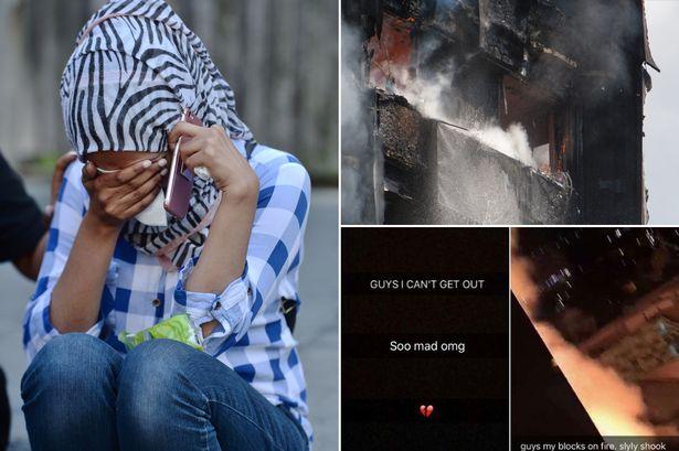 Những hình ảnh kinh hoàng còn lại sau vụ cháy chấn động ở thủ đô London - Ảnh 11.