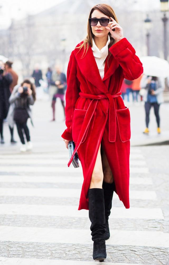 Gam màu đỏ nổi bật cho trang phục ngày Tết - Ảnh 9.