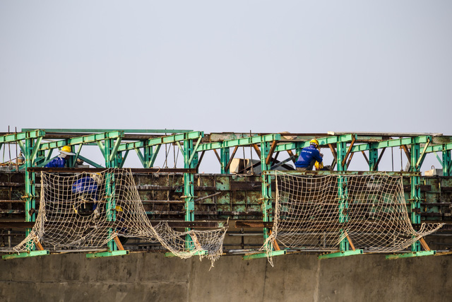 Ngày 14/5, thông xe kỹ thuật cầu vượt biển Tân Vũ - Lạch Huyện - Ảnh 2.