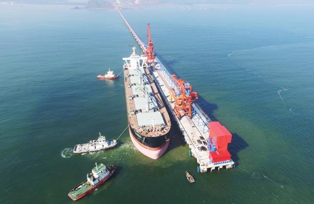 Chính thức vận hành cầu cảng biển Vissai Nghệ An - Ảnh 1.