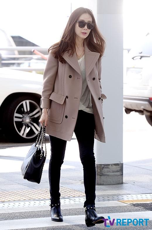 Choi Ji Woo lọt Top sao ăn mặc sành điệu nhất xứ Hàn - Ảnh 4.