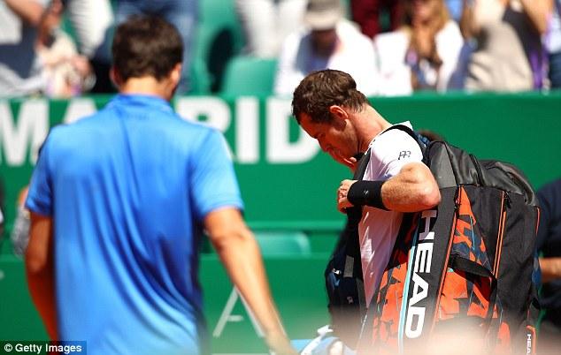 Monte Carlo Masters 2017: Andy Murray dừng bước tại vòng 3 - Ảnh 3.
