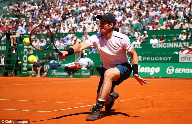 Monte Carlo Masters 2017: Andy Murray dừng bước tại vòng 3 - Ảnh 1.