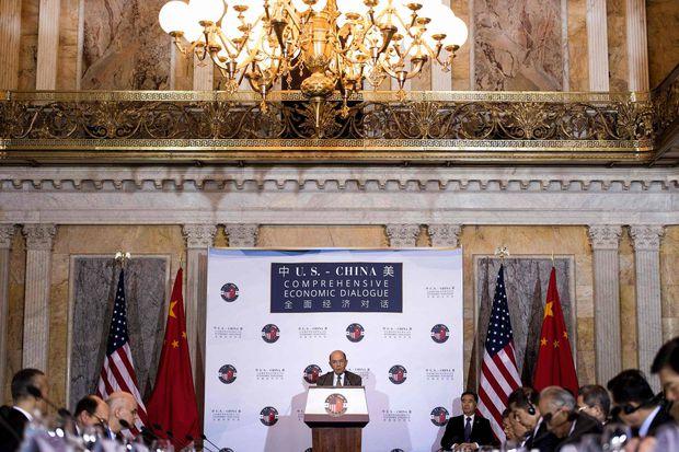 Mỹ - Trung Quốc vẫn đang đối thoại, không đối đầu về kinh tế - Ảnh 1.