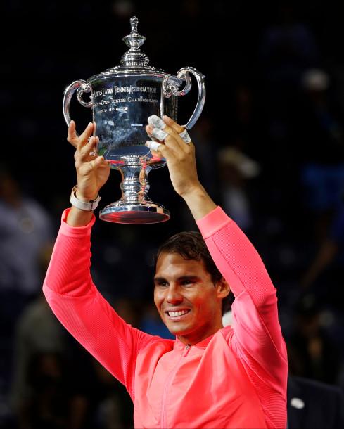 Giành chức vô địch Mỹ mở rộng Rafael Nadal hâm nóng cuộc đua với Roger Federer - Ảnh 2.