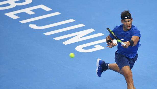 Thắng nghẹt thở Dimitrov, Nadal vào chung kết giải quần vợt Trung Quốc mở rộng 2017 - Ảnh 1.