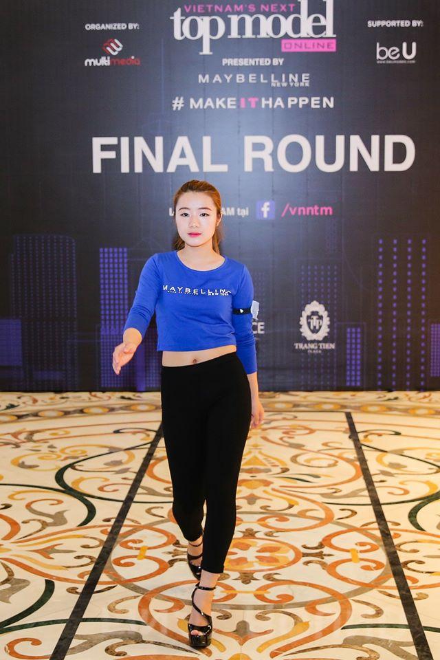 Chân dài 36 tuổi tự tin khoe đường cong tại vòng Chung kết Top Model Online miền Bắc - Ảnh 6.