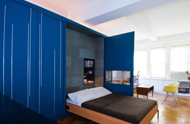 Phòng khách kiêm phòng ngủ vừa ấn tượng vừa tiết kiệm diện tích - Ảnh 8.