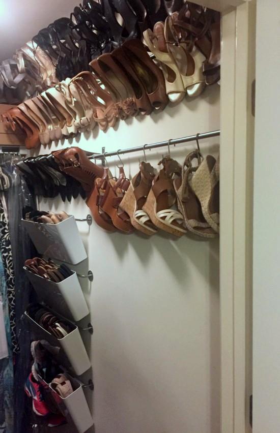 Ý tưởng thiết kế giá giày vừa gọn vừa đẹp trong nhà - Ảnh 6.