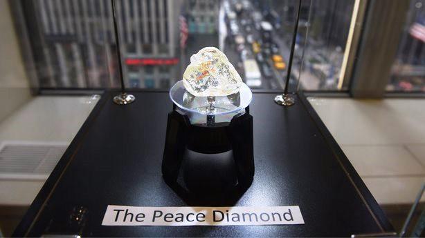 Viên kim cương Hòa bình được bán với giá 6,5 triệu USD - Ảnh 1.