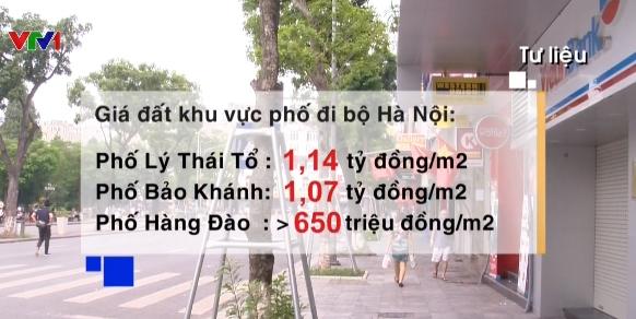 Hơn 1 tỷ đồng mỗi m2 đất phố đi bộ Hà Nội - Ảnh 1.