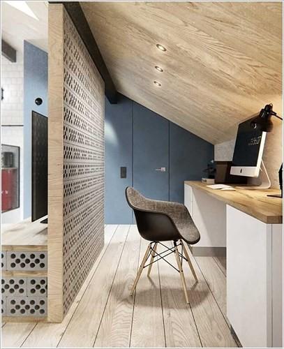 Cách tận dụng không gian để có một phòng làm việc nhỏ - Ảnh 2.