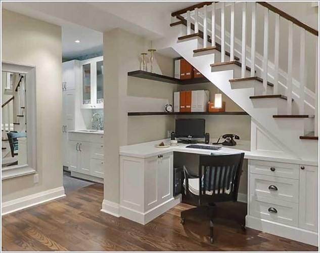 Cách tận dụng không gian để có một phòng làm việc nhỏ - Ảnh 1.