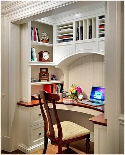Cách tận dụng không gian để có một phòng làm việc nhỏ - Ảnh 4.