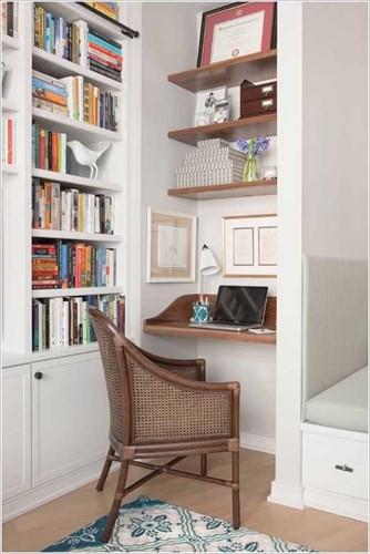 Cách tận dụng không gian để có một phòng làm việc nhỏ - Ảnh 7.