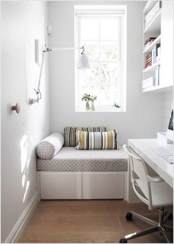 Cách tận dụng không gian để có một phòng làm việc nhỏ - Ảnh 8.