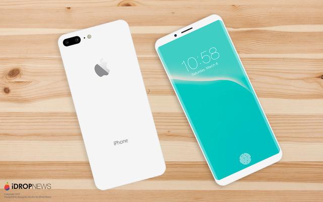 Mãn nhãn với concept iPhone 8 phiên bản Jet White - Ảnh 4.