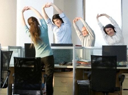 Bí quyết để có một sức khỏe tốt cho dân văn phòng - Ảnh 1.