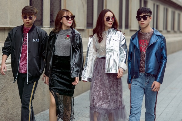 Team Yến Trang khoe street style chất lừ trước đêm thi đối đầu The Remix - Ảnh 2.