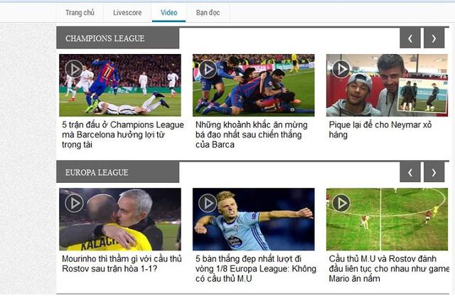 VTVcab ngừng phát sóng Champions League và Europa League tại Việt Nam - Ảnh 1.