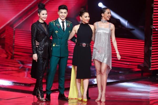 Giọng hát Việt 2017: Xác định top 4 vào chung kết - Ảnh 1.