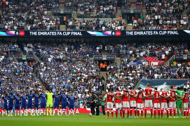 Những hình ảnh đáng nhớ trong ngày đăng quang FA Cup thứ 13 của Arsenal - Ảnh 3.