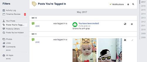 Tìm kiếm các bài đăng cũ trên dòng thời gian của Facebook - Ảnh 1.