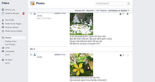 Tìm kiếm các bài đăng cũ trên dòng thời gian của Facebook - Ảnh 2.
