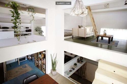 Độc đáo ngôi nhà được thiết kế kỳ lạ, không tường, không cầu thang - Ảnh 1.