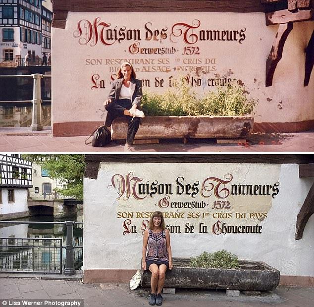 Độc đáo bộ ảnh xưa và nay sau 30 năm ở châu Âu - Ảnh 2.