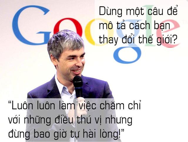 10 câu nói cho thấy bộ óc thiên tài của ông chủ Google - Ảnh 1.