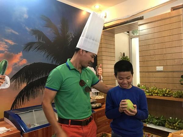 Nghệ sĩ Xuân Bắc hào hứng tham gia lễ khai trương cửa hàng thực phẩm hữu cơ Smile Cook - Ảnh 4.