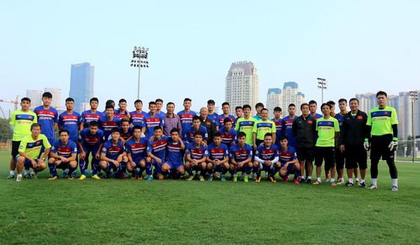 Lãnh đạo VFF thăm và động viên ĐT U23 Việt Nam - Ảnh 2.