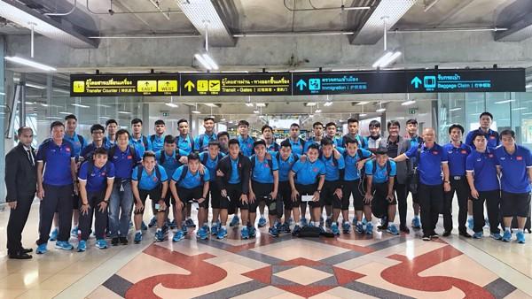 ĐT U23 Việt Nam lên đường tham dự M-150 Cup Thái Lan 2017 - Ảnh 1.