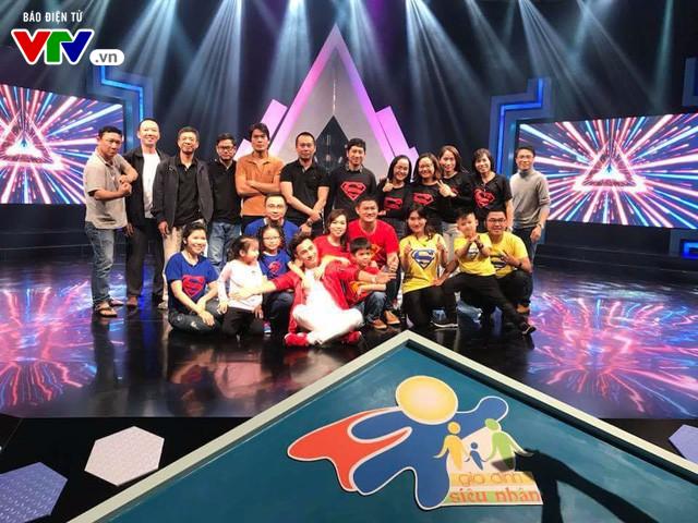 Gameshow Gia đình siêu nhân (21h15, Chủ nhật, 07/01/2018 trên VTV8) - Ảnh 1.