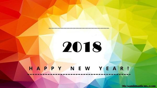 Bộ ảnh đẹp Chúc mừng năm mới 2018 trên mạng xã hội - Ảnh 1.
