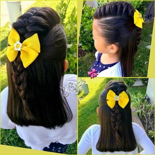 Những kiểu tóc tết đáng yêu cho bé gái đi chơi dịp Tết Dương lịch 2018 - Ảnh 2.