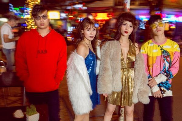 Team Yến Trang khoe street style chất lừ trước đêm thi đối đầu The Remix - Ảnh 11.