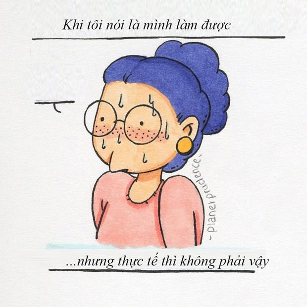Bộ tranh nỗi niềm con gái của nữ nghệ sĩ người Bỉ khiến các nàng vừa xem vừa gật gù vì quá đúng - Ảnh 11.