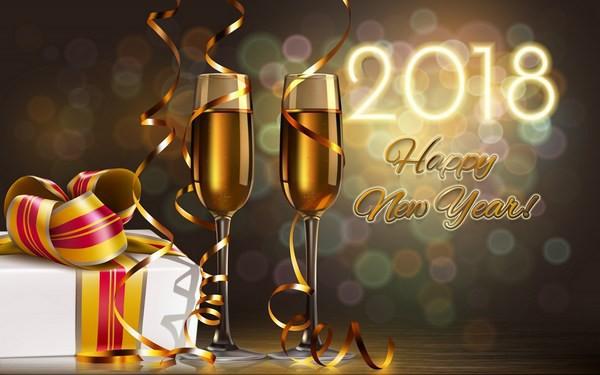Bộ ảnh đẹp Chúc mừng năm mới 2018 trên mạng xã hội - Ảnh 11.