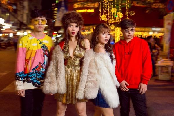 Team Yến Trang khoe street style chất lừ trước đêm thi đối đầu The Remix - Ảnh 12.