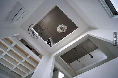 Độc đáo ngôi nhà được thiết kế kỳ lạ, không tường, không cầu thang - Ảnh 12.